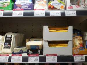 Castello Danish Blue Cheese 150g 93p in Co-op, plus loads of other cheese on clearance,  list below.