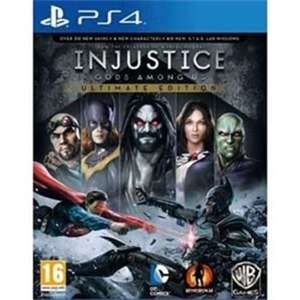 Injustice Gods Among Us Ultimate Edition (PS4) - PREOWNED £17.99 @ GamesCentre