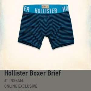 Hollister Boxer Shorts -£3.15 Free Delivery - Hollister