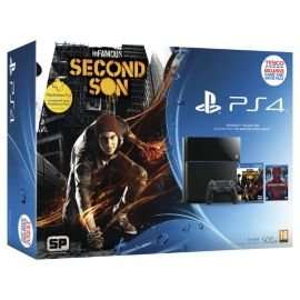 PS4 Console with InFamous, 90 Day PS+, and Amazing Spiderman BD £337.50 (with code, only in the world cup final) @ Tesco direct