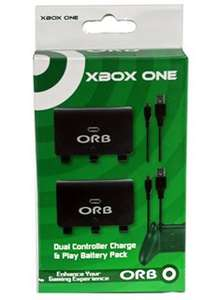 Xbox One Dual Battery Pack (Orb) for Xbox One for £4.85 @ Simply Games