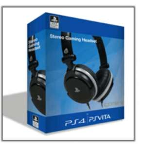 4Gamers PS4/PSVita Headset £16 @ Game