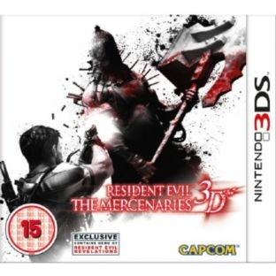 Resident Evil The Mercenaries 3D (Nintendo 3DS) - Click & Collect @ Argos - £4.99