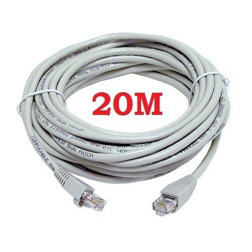 20M CAT5e RJ45 ETHERNET LAN NETWORK PATCH LEAD CABLE £1.75 at universalgadgets01 Ebay