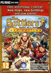 Settlers 7 : Paths To A Kingdom [Gold Edition] £3.45 sold by Onestopent on eBay