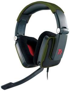TT Esports Gamers Headset Shock - Green (£15.91 delivered) @ Overclockers