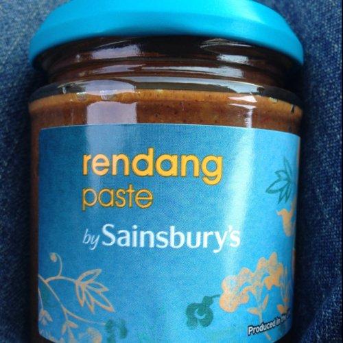 Rendang curry paste 50p at sainsburys
