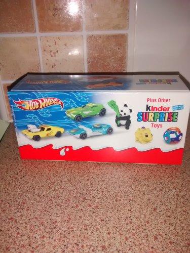 3 pack of kinder surprise eggs £1.45 at lidl