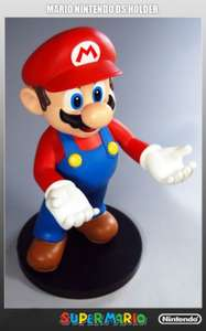 "Nintendo Official SUPER MARIO 12"" Figure / Holder (holds Nintendo 3DS, Dsi, DS Lite, Wiimote etc.) @ Nintendo Store - £19.99"