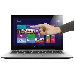 "Lenovo IdeaPad U330 Touch Ultrabook, Intel Core i7, 4GB RAM, 500GB + 8GB SSD, 13.3"" Touch Screen, Grey £599.95 @ John Lewis"