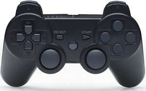 PS3 SIXAXIS Dual Shock 3 Bluetooth Wireless Controller £15.99 delivered new other @ ebay techdeals247