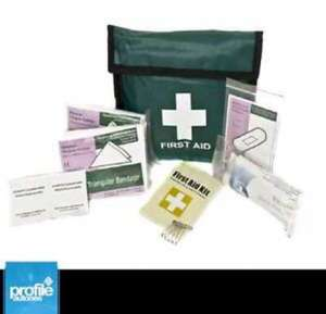 SMALL FIRST AID EMERGENCY KIT HOME MEDICAL CAMPING OFFICE TRAVEL CAR TAXI @ Profile Autones Ebay Store 99p, Free Postage