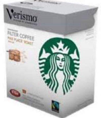 Starbucks Verismo Fairtrade Pike Place Roast Filter Coffee Pods £4.86 @ Tesco