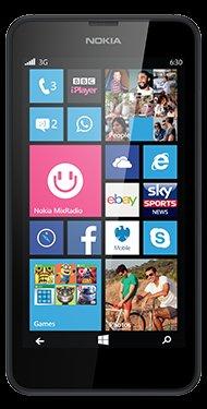 Nokia Lumia 630 £112 @ giffgaff