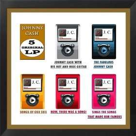 Johnny Cash : Five Original Albums (60 tracks in total) - Amazon MP3 for £2.99