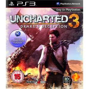 Uncharted 3: Drake's Deception (PS3 Used Very Good) £2.04 Delivered @ Zoverstocks Via Amazon