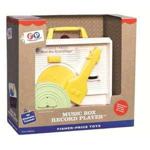 Retro Fisher Price Childrens Classics Record Player £21.99 Delivered @ Ocado