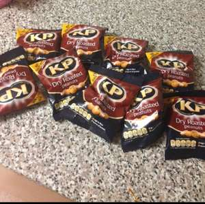 10 packets of kp roasted nuts £1.00 @ buyology