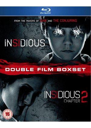 Insidious 1 & 2 Double Pack (Blu-Ray) @ Base - £10.39