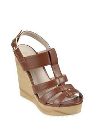 Wooden Wedge Gladiator Sandals  £20.00 @ matalan