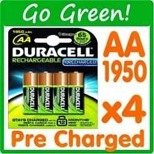 Duracell PreCharged Rechargeable 1950 mAh AA Batteries - 4-Pack-£5.65 (Free Delivery) @ Amazon and sold by Everyday Electrics