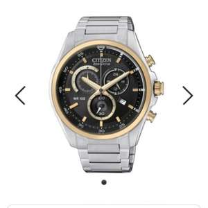 Citizen Eco Drive Men's Stainless Steel Bracelet Watch @ ideal world £134.99 possibly lower with voucher codes