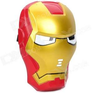 Cosplay Iron Man Mask with Blue Lite-Up Eyes £2.65 delivered @ DX
