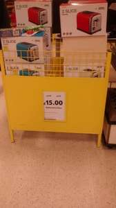 2 slice toaster reduced to £15.00 @ Tesco In store (Gateshead)