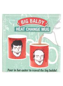 Big Baldy Heat Change Mug - £1 Delivered @ Burton