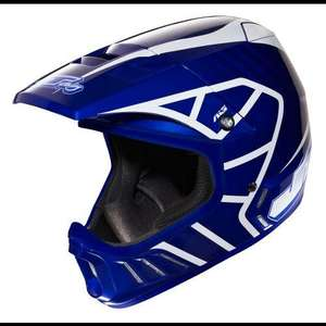 JT Racing Evo Helmet - Blue-White 2013 RRP£239.99 now £71.99 delivered with code PRO10 at Chain Reactions Cycles