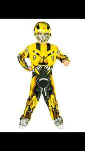 Transformers bumblebee dress up / costume £3.99 @ Home Bargains