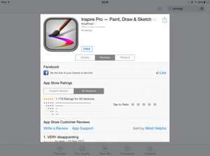 Inspire Pro — Paint, Draw & Sketch on the App Store on iTunes for iPad only.