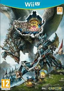 Monster Hunter 3 Ultimate Edition (Wii U) only £15 at GAME