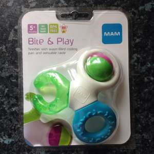 MAM bite and play teether £1.52 @ Tesco instore
