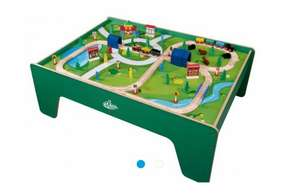 carousel wooden train track table £50 (£40 for new customers) @ tesco free c&c