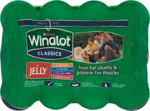 Winalot Classics in Jelly (12 x 400g) now ONLY £5.00 @ The Pet Hut