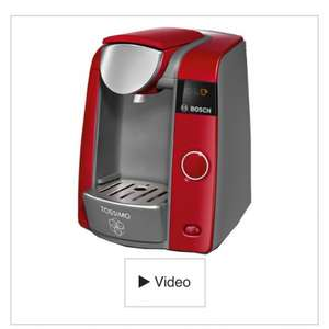 Bosch TAS4303GB Red Joy Tassimo Coffee Machine £59.98 @ Currys