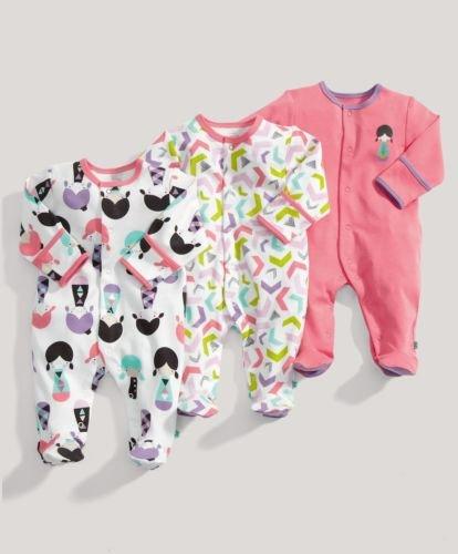 Mamas & Papas 3x girls sleepsuits £8 @ Mamas & Papas official eBay store