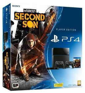 Playstation 4 Infamous Mega Bundle Pre-Order £399.97 at Gamestop