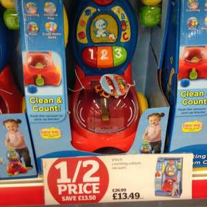 Toy sale @ Sainsburys including Vtech Counting Vacuum £13.49 half price