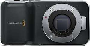blackmagic pocket cinema camera (BMPCC) for £390 (usually £672) @ CVP