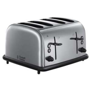 ** Russell Hobbs Oxford 4-slice Toaster now £17.99 @ Sainsburys **