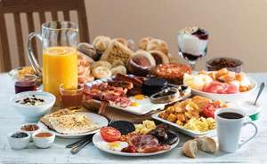 Unlimited Breakfasts £4.99 Adults & £1.99 Children / Unlimited Continental Breakfast £2.99 &  99p Children @ Harvester (image in 1st post)