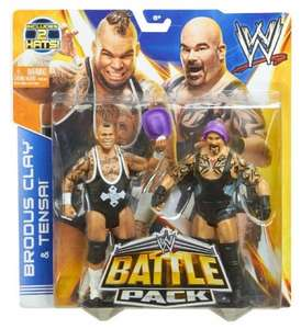 WWE Brodus Clay and Tensai Battle Pack Only £4.99 @ Smyths In Store only