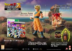Dragon Ball Z: Battle of Z - GOKU Collector's EDITION inc 25cm GOKU Super Saiyan FIGURINE & Artbook (PS3 / XBOX 360) @ GAME - £29.99