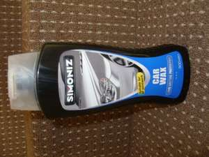 Simoniz Car wax 500ml  £1 at poundland