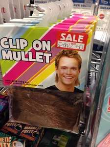 Clip-on Mullet - Half Price Instore, Menkind £2.50!!