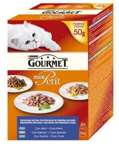Gourmet mon Petit Cat food - £1 a box - 6 x 50g packets in Iceland (The shop not the Country )