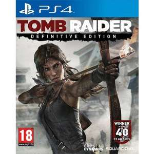 Tomb Raider Definitive Edition (PS4) (New) £23.95 @ The Game Collection