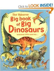 Big Book of Dinosaurs £4 @ Amazon (Free delivery £10 spend / Prime / Locker)